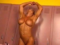 M.D. in the locker room