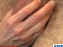 Delivery guy (hetero) gets sucked by a client in spite of him !
