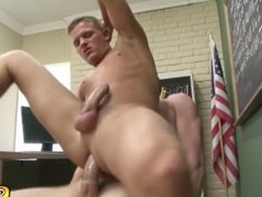 Janitors one on one blow job and anal sex