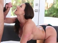 Kendra Lust sucking and fucking on a bed Sexdatemilf. com