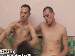 Barebacking Gay Felching Scene