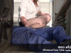 blowjob in the garage