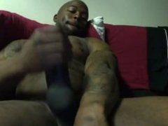 Black Man , with a big ol dick
