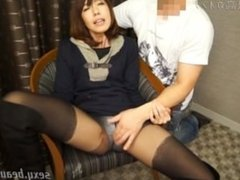 Japanese Clothed Wife Orgasm 1