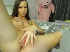 Teen Pussy Caught Squirting on Live Cam - YourWishCams(.)com
