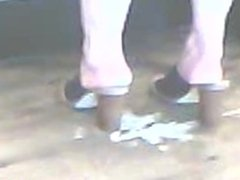 High Heels MILF In Mules