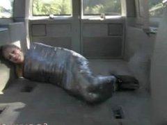 taped in van