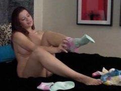 Sarah Blake Feet - New Cute Socks pt5