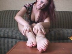 Sarah Blake Femdom Foot Slave Humiliation
