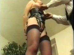 Two french slaves dominated by two masters PART3 - bondage-dom.com