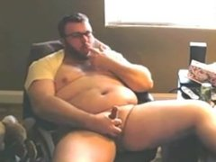 Cute Chubby Guy Jerks Off & Cums