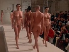 """Ready to Wear"" nude fashion show finale"