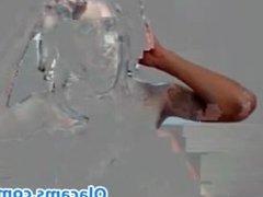 Sexy busty brunette teen live on webcam