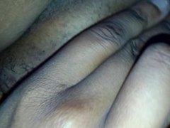 little vagina rub