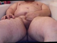Piss and cum in my tub II