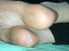 Foot Fetish high arched gf soles