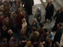Game Of Thrones S05E10 - Lena Headey - Street Nude Scene (Cersei Lannister)