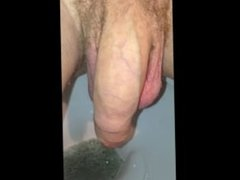 Close Up of Dick while Pissing