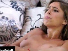 Teen cutie seduced by Presley Hart porn