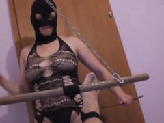 Bondage and feet caning for a slaveboy - DATES25.COM