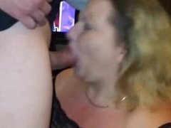BBW Getting a Mouthful of Hot Creamy Cum