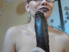 goth lipgloss sissy loser sph