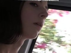 My girlfriend slut does BJ in a cable car scene 3 - DATES25.COM