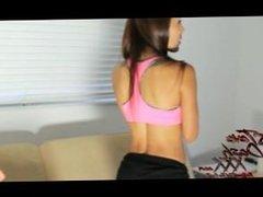 Nasty Latina Teen Takes First Time ANAL Slam
