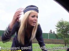 European teen stewardess banged in uniform - DATES25.COM