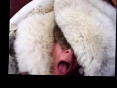Furgirl white fur hat fur coat blowjob 27 via DATES25.COM