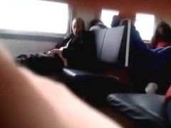 DATES25.COM Girl catch an old guy on the train