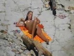 Blondes nudist. I found her on DATES25.COM