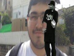 Israeli Fattie Touches himself