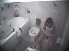 Girl in bathroom. I met her on dates25.com