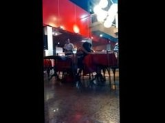 Public sex in restaurant. I found her on DATES25.COM