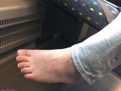 Nice feet on train [2]