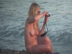 Spy mature nudist. Date via DATES25.COM