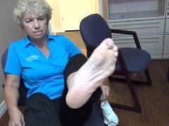 Mature Dr. Feet