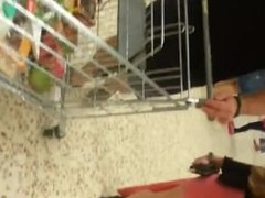 Nicely Caught Arses And Legs In Supermarket