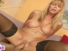 Sexy wife deep throat