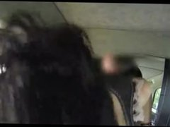 Big boobs fucked in taxi cabe