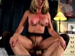 Betty is a beautiful big tits old spunker who loves to fuck