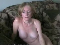 Amateur MILF Gets used By Cock
