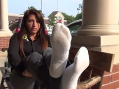 Hispanic Cutie Feet