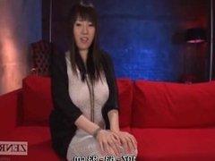 Japanese Azusa Nagasawa fishnet dress English subtitled interview