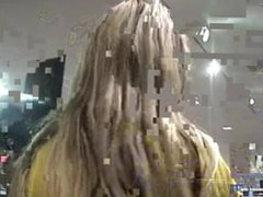 DATES25.COM Amateur german blonde fucking in changing room