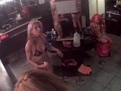 Dressing room camera. Recorded on 720cams.com