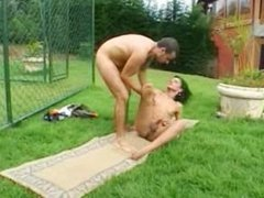 shemale and stud fucking outdoor