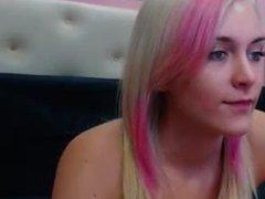 Rubia de bonito cuerpo. Live on 720cams.com