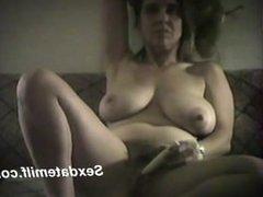 Audrey the nurse masturbating from Sexdatemilf.com